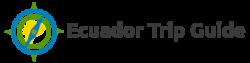 Ecuador Trip Guide Logo black font